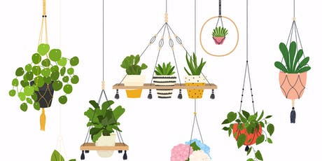 Macrame' Plant Hanger For Beginner tickets