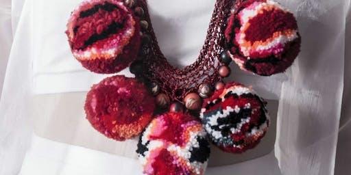 Wool jewellery creating  with Afternoon Tea Treats