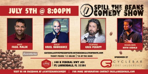 Cafe Collective Presents Spill the Beans Stand Up Comedy Show - Devin Siebold