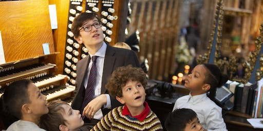 Organ Explorers Family Event at Westminster Abbey