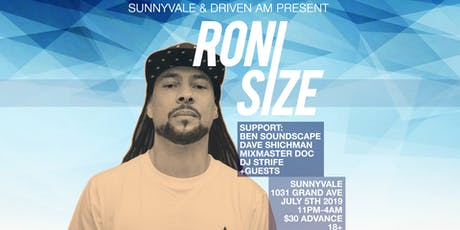 Roni Size tickets