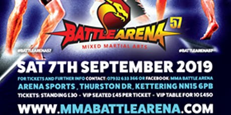 BATTLE ARENA 57 - KETTERING tickets