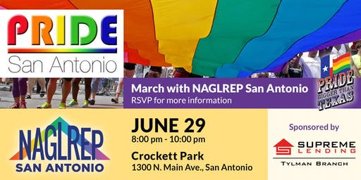 NAGLREP San Antonio @ Pride June 29