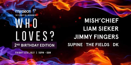 Who Loves? Deep House // Techno - 2nd Birthday Club Night tickets