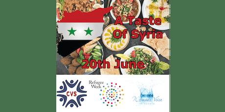 A Taste of Syria tickets