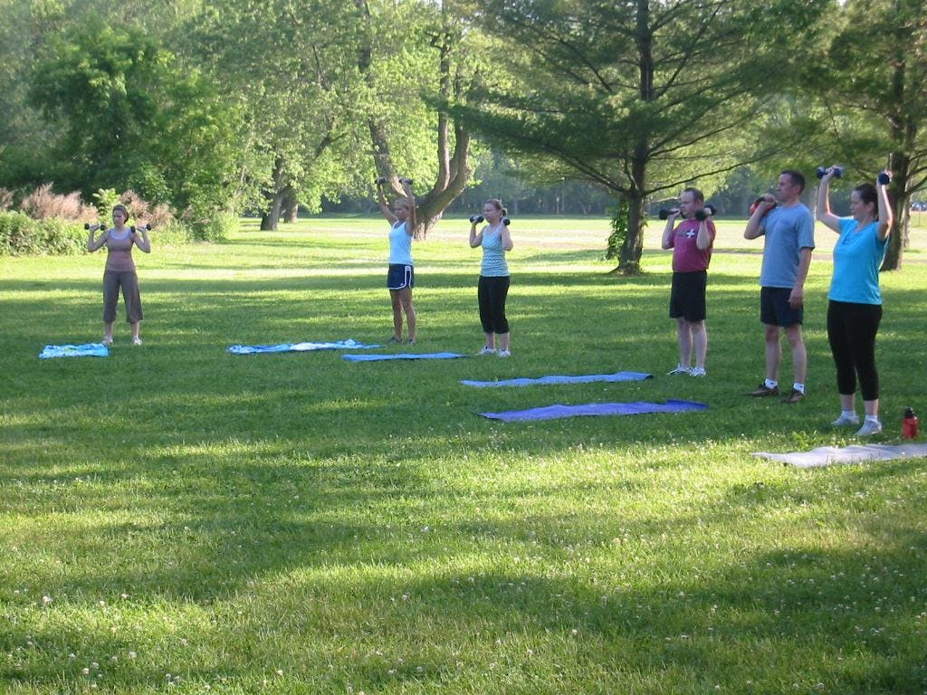 Outdoor Bootcamp and Juice Tasting on the Erie Canal