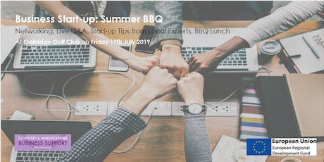 Business Start-up Summer BBQ tickets