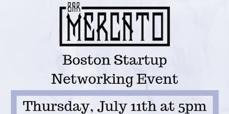 Boston Startup Networking event tickets