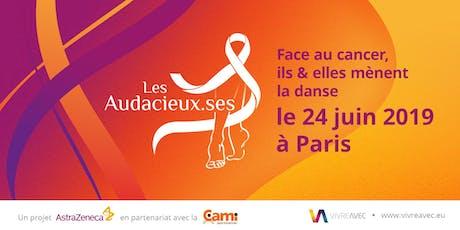 Les Audacieux.ses • Face au cancer, ils et elles mènent la danse à Paris billets