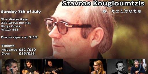 Stavros Kougioumtzis: a tribute