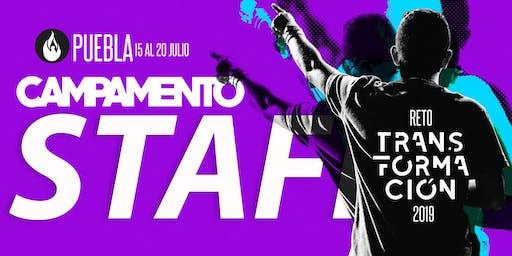 Staff Reto Transformación Centro (Tetela de Ocampo) 2019