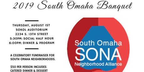 2019 South Omaha Banquet tickets