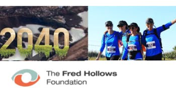 Be Inspired by 2040 for Fred Hollows Foundation
