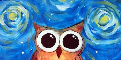 Van Gogh's Owl at Rm. 727 Gastropub tickets
