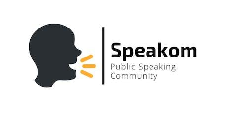 Speakom - Public Speaking Community tickets