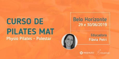 Curso de Pilates Mat - Physio Pilates Polestar - Belo Horizonte ingressos