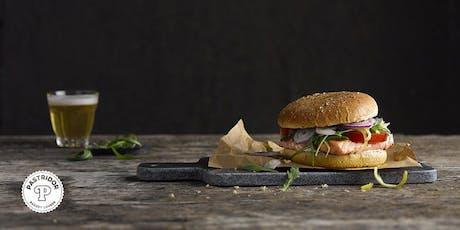 Hamburgers en foodpairing - 20 Augustus 2019 - Brussel tickets