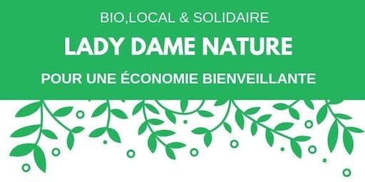 LADY DAME NATURE, 1er Salon festival écoféministe du Québec