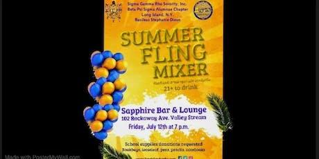 Summer Fling Mixer tickets