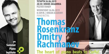 Συναυλία πιάνου με τους Dimitry Rachmanov και Thomas Rosenkranz tickets