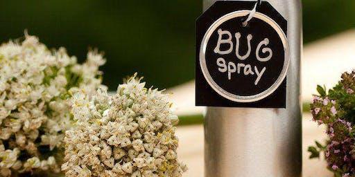 Essential Oil Bug Spray Make & Take