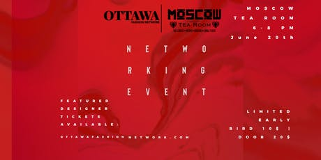 OTTAWA FASHION NETWORKING EVENT  billets
