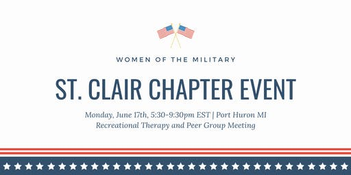 Women of the Military: St. Clair Chapter Event (June)