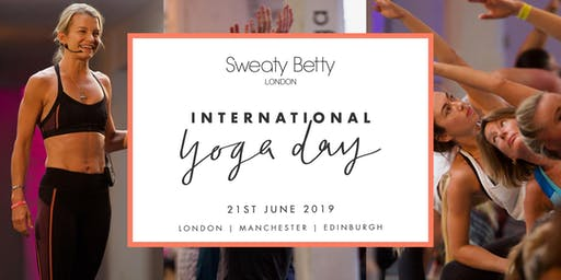 Sweaty Betty - International Day of Yoga UK
