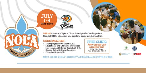 Essence of Sports Clinic July 1-3