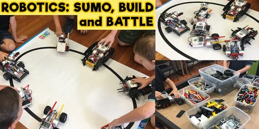 Robotics - Sumo Build and Battle - Friday 12th July
