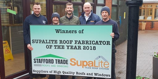 Stafford Trade Roofs & Windows - Supalite Demo Open Day