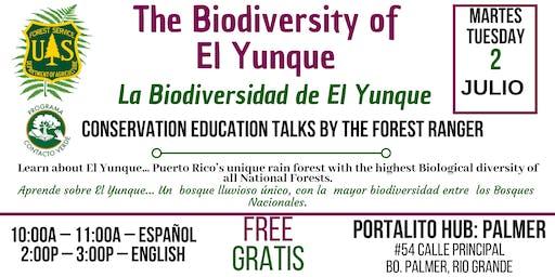 La Biodiversidad de El Yunque / El Yunque's Biodiversity