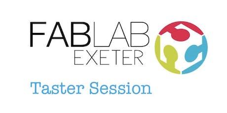 1:1 Laser Cutter Taster Session - FabLab Exeter tickets