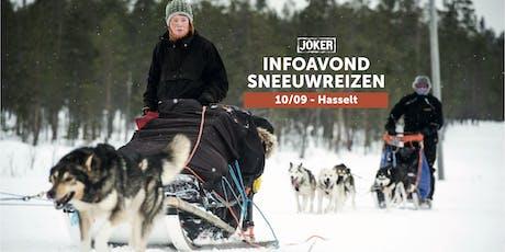 Infoavond Joker Sneeuwreizen in Hasselt billets