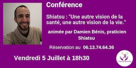 Conférence gratuite sur le Shiatsu  billets