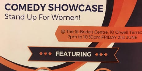 Stand Up For Women! Comedy Showcase tickets