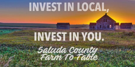The 2019 Saluda County Farm to Table Dinner and Honey Tasting  tickets