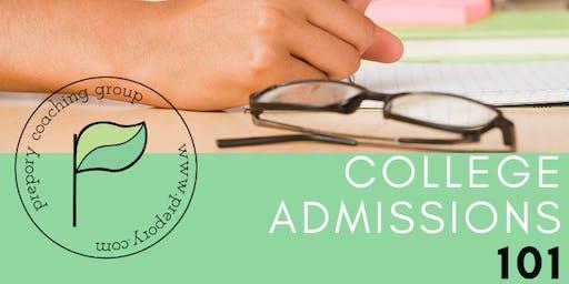 College Admissions 101