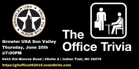 The Office Trivia at Growler Sun Valley tickets