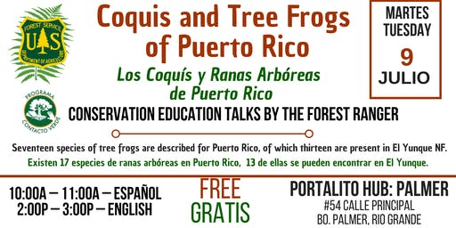 Los Coquis y Ranas Arbóreas de Puerto Rico / Coquis and Tree Frogs of PR