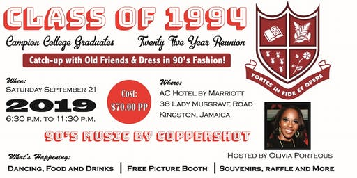 Campion College Class Of 1994 25 Year Reunion