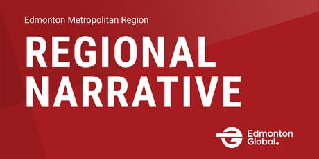Launch of Regional Narrative - Edmonton Metropolitan Region tickets