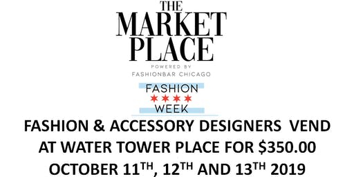 Fashion Designers VEND at WATER TOWER PLACE!!  (Eventbrite Special ONLY!)