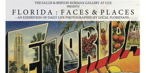 'Florida: Faces & Places' Exhibition Reception