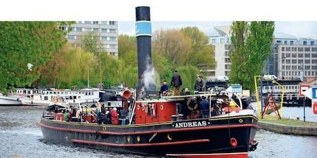 Schiffsfahrt auf historischen Schiffen von Berlin nach Stettin Tickets