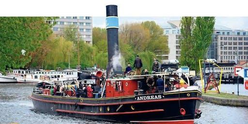 Schiffsfahrt auf historischen Schiffen von Berlin nach Stettin