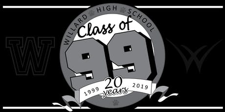 Willard Class of '99 Reunion tickets