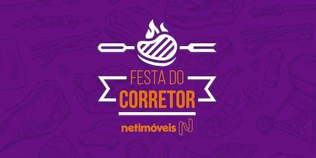 Festa do Corretor Netimóveis tickets