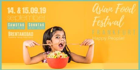 Asian Food Festival - Frankfurt Vol.2 @ Brentanobad Tickets