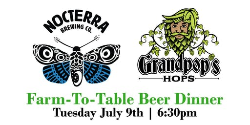 Nocterra Farm-To-Table Beer Dinner